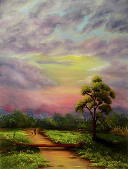 Morning Walk by Debra Dickson