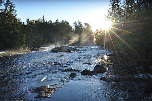 Morning Waterfall by Erin Clausen