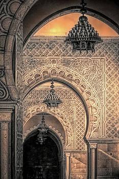 Moroccan Arches, Printerly by Susan Lafleur