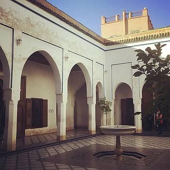 Moroccan Architecture 3 by Lori Fitzgibbons