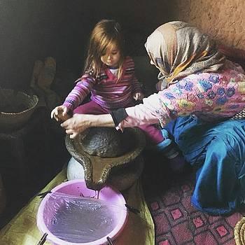 Moroccan Argon by Lori Fitzgibbons