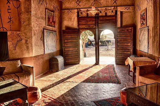 Moroccan Kasbah By Kathy Adams Clark
