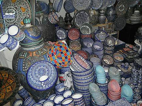 Moroccan pottery colour by Exploramum Exploramum
