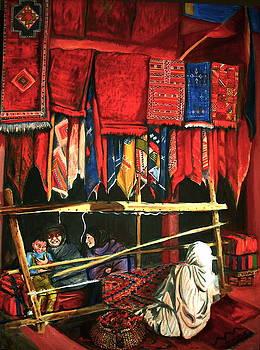 Yvonne Ayoub - Moroccan Rug Weavers