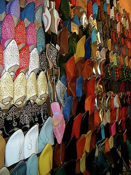 Moroccan slippers by Exploramum Exploramum