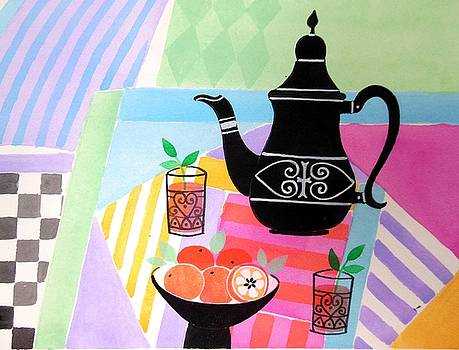 Moroccan Tablescape by Mary Maki Rae