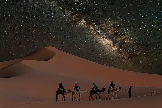Morocco Dunes by Keith Marsh