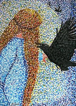 Angela Davies - Morrigan Raven Goddess