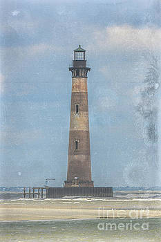 Dale Powell - Morris Island Lighthouse Salt Water Marine Warning