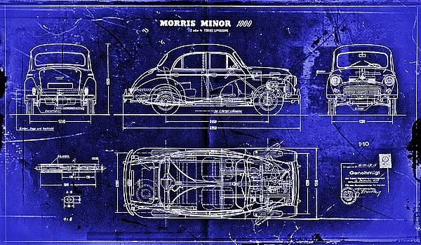 Morris Minor Car by Joseph Hawkins