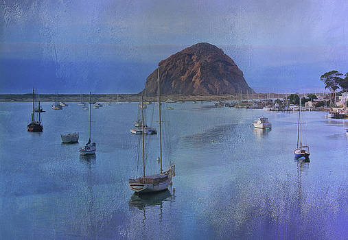 Morro Bay in Blues by Stephanie Laird