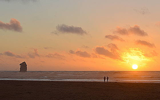 Morro Sunset by AJ Schibig