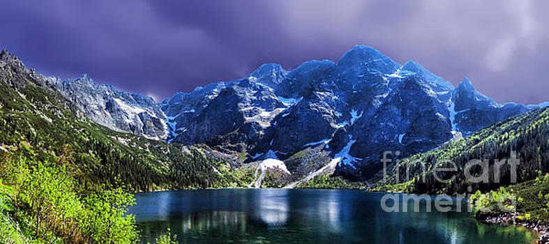 Justyna Jaszke JBJart - Morskie Oko Poland Lake Tatra