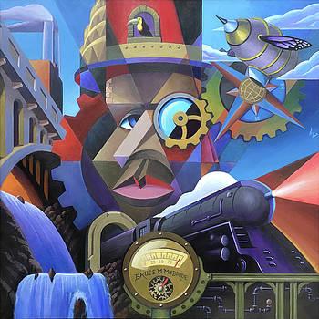 Steampunk Face by Bruce MacBride