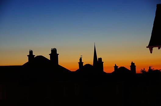 Morton Street Rooftops by Nik Watt