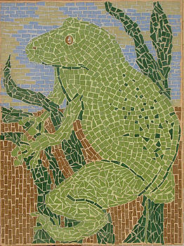 Mosaic - Tree Frog by Libby  Cagle
