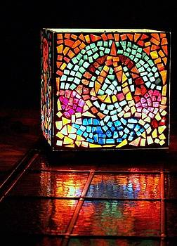 Mosaic Alpha and Omega by Ted Hebbler
