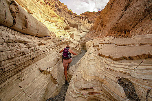 Mosaic Canyon- Death Valley by Chris Burke