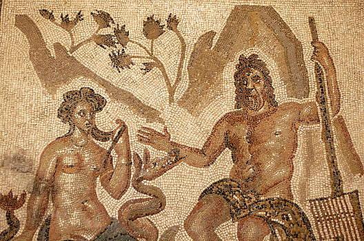 Sami Sarkis - Mosaic depicting the Roman god Neptune inside the Catedral de Cordoba
