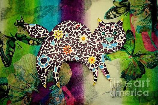 Caroline Street - Mosaic Kitty