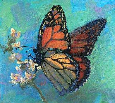 Mosaic Monarch by Donna Shortt