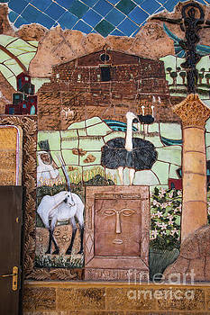 Mosaic of the Holy Land by Mae Wertz
