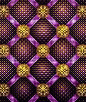 Anastasiya Malakhova - Mosaic - Purple and Yellow