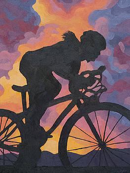 Mosaic Sky Ride by Julia Taylor