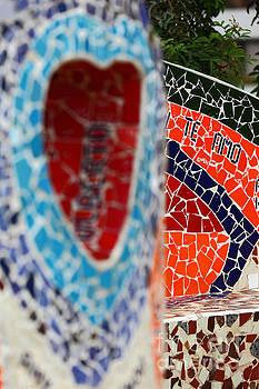 James Brunker - Mosaic Valentines Message