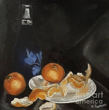 Moscato and Tangerines by Isabel Honkonen