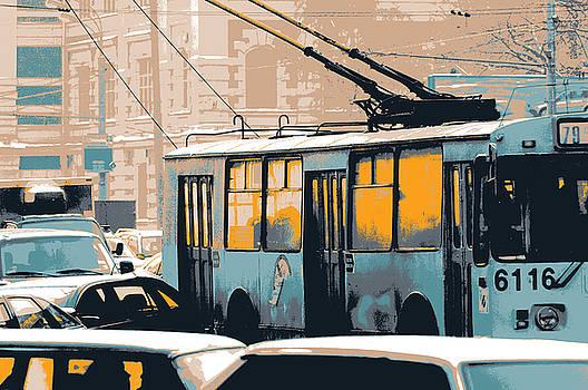 Moscow Bus by Shay Culligan