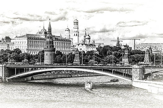 Moscow in Black and White by Janis Knight