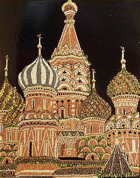 Moscow Red Square by Kovats Daniela