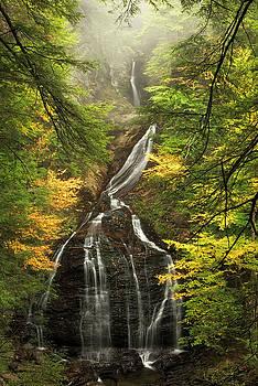 Moss Glen Falls Vermont by Matt Shiffler