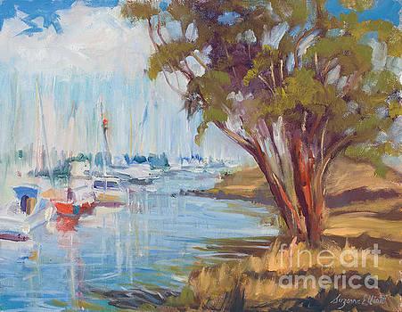 Moss Landing Harbor by Suzanne Elliott