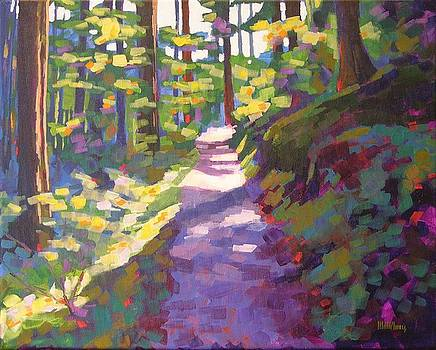 Mossy Passage by Mary McInnis