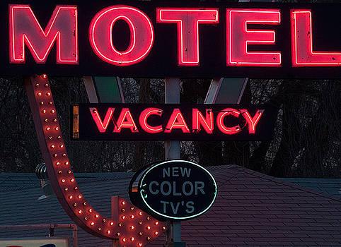 Motel-Pink by April Bielefeldt