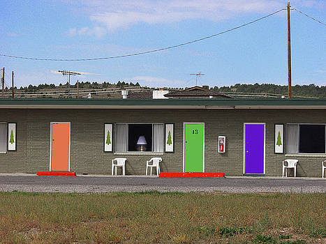 Motel room 13 by Peter Pfeffer