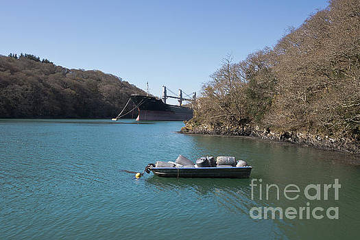 Mothballed on the River Fal by Terri Waters