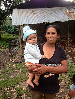 Mother and Baby in Jinotega by Rosa Diaz