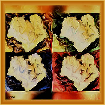 Mother and Child Abstract by Debra Lynch
