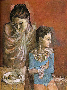 Picasso - Mother and Child Baladins 1905