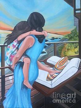 Mother And Child - Breeze by Ferdz Manaco