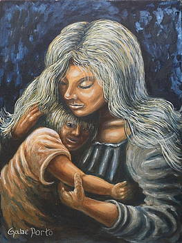 Mother And Child by Gabriel Porto