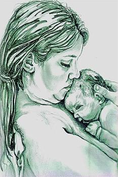Mother and Child II by Carol Allen Anfinsen