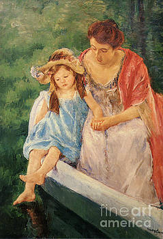 Cassatt - Mother and Child In a Boat