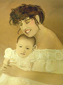 Mother and Child by Jo Anna McGinnis