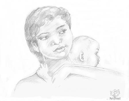 Mother and Child by Mark Plimsoll