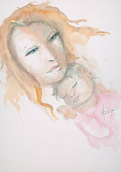 Mother And Child by Mary DuCharme