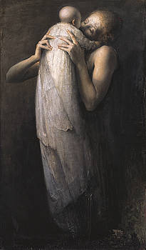 Mother and Child by Odd Nerdrum